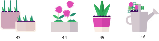 container gardening ideas 43-46