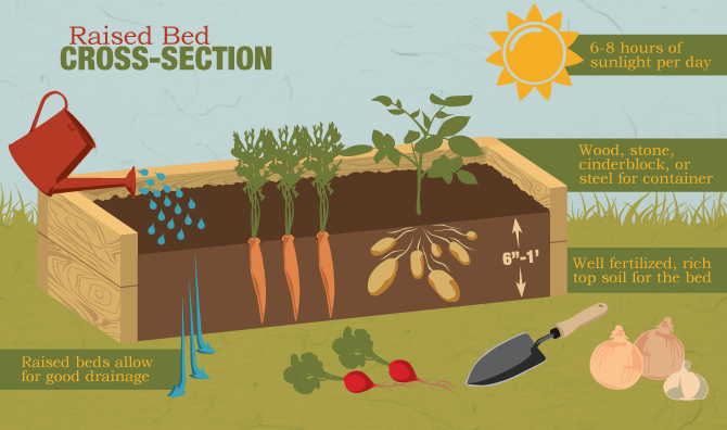 A Guide To Building Raised Gardening Beds Fixcom