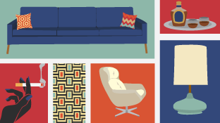 Create a Fabulous Vintage Home in a Post-<i>Mad Men</i> Era