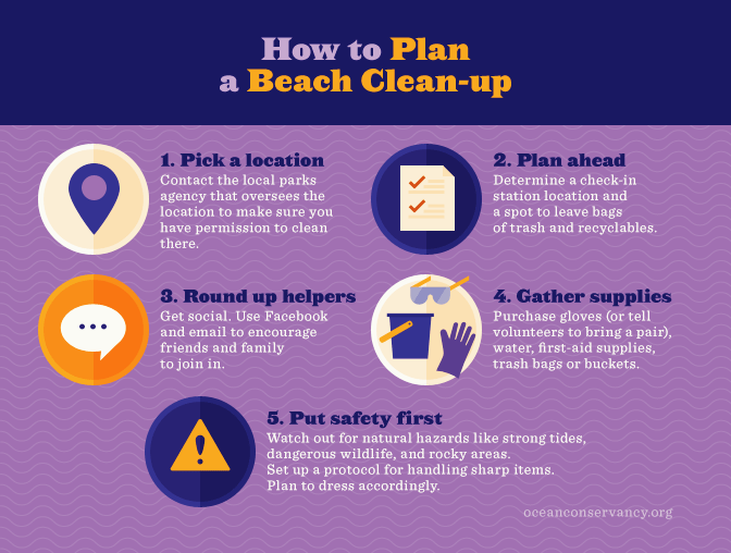 How to Plan a Beach Clean-up