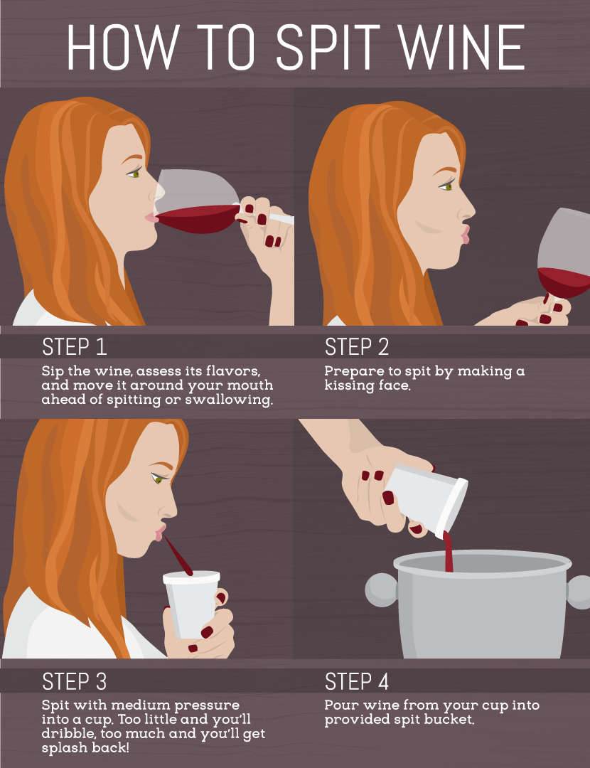How to Properly Spit Out Wine