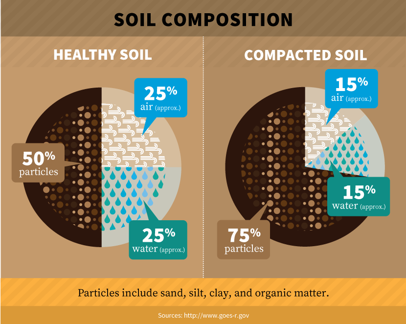 Drought proofing your property for Soil composition definition