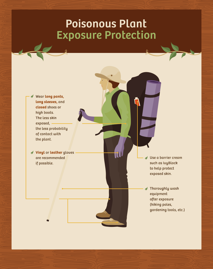 Poisonous Plants - Poisonous Plants Exposure Protection