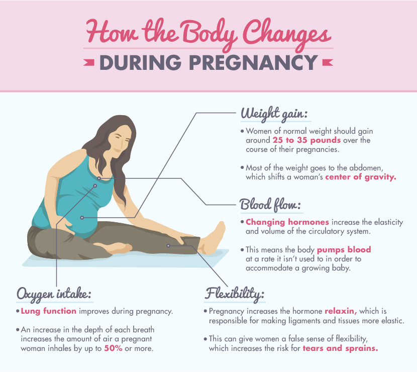 How The Body Changes During Pregnancy