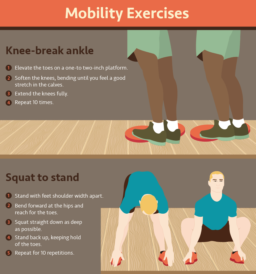 Exercises to improve mobility