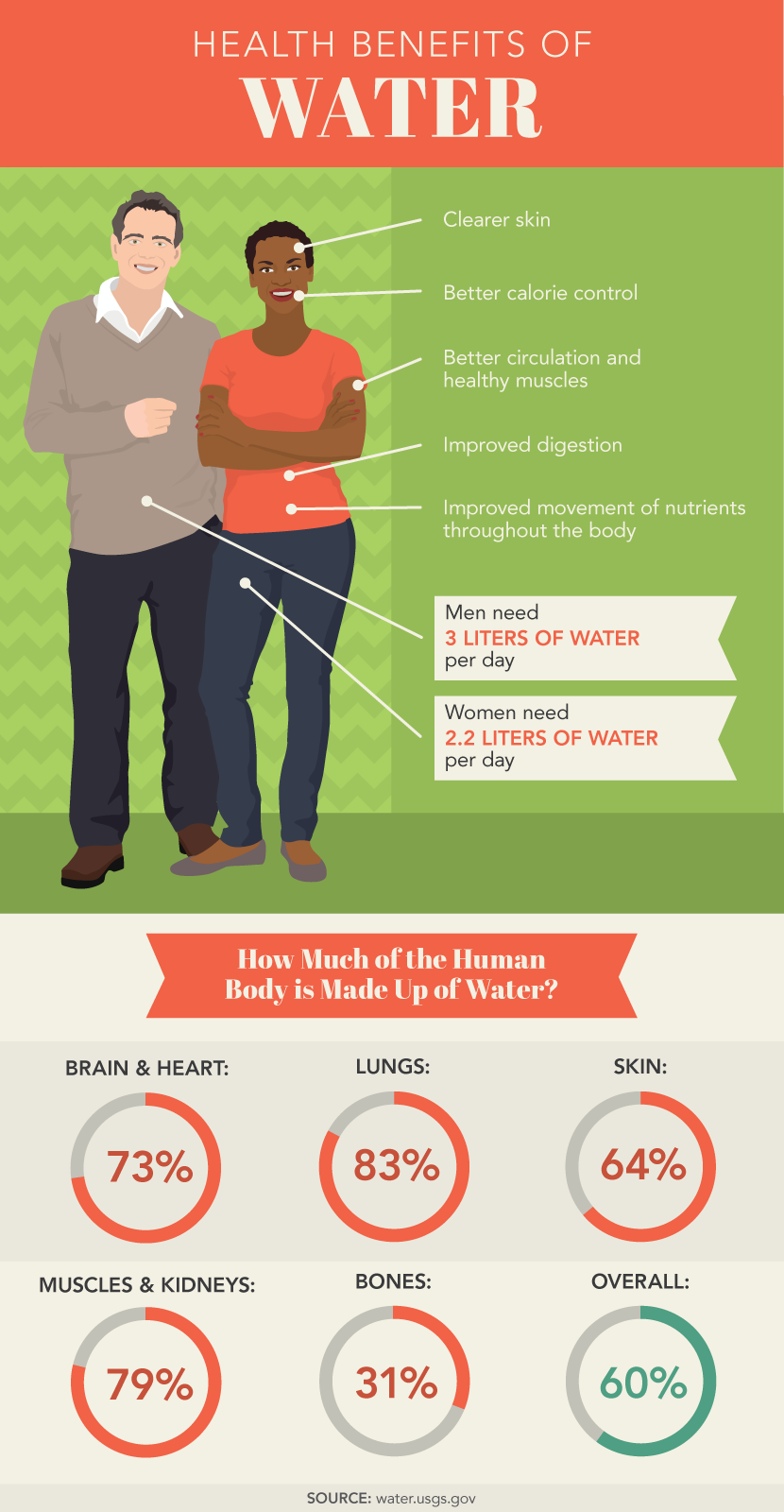 Stay Hydrated With Infused Water: The importance of water in the human body