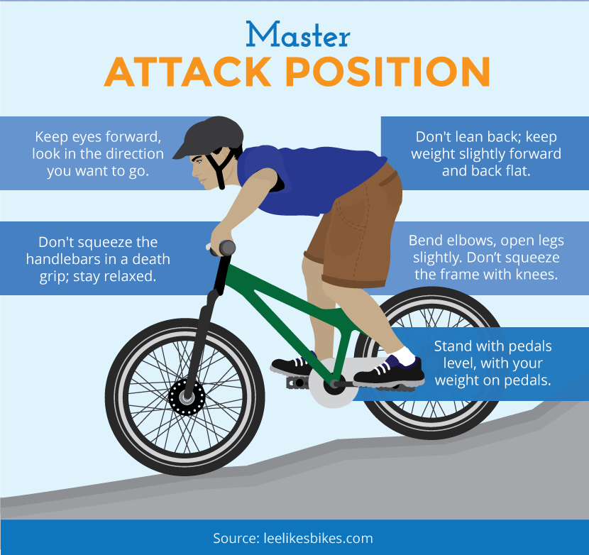 Master Attack Position - Mountain Biking With Kids