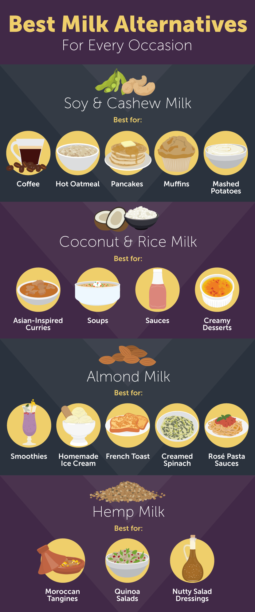 Best Milk Alternatives - 6 Nutritious Milk Alternatives to Try