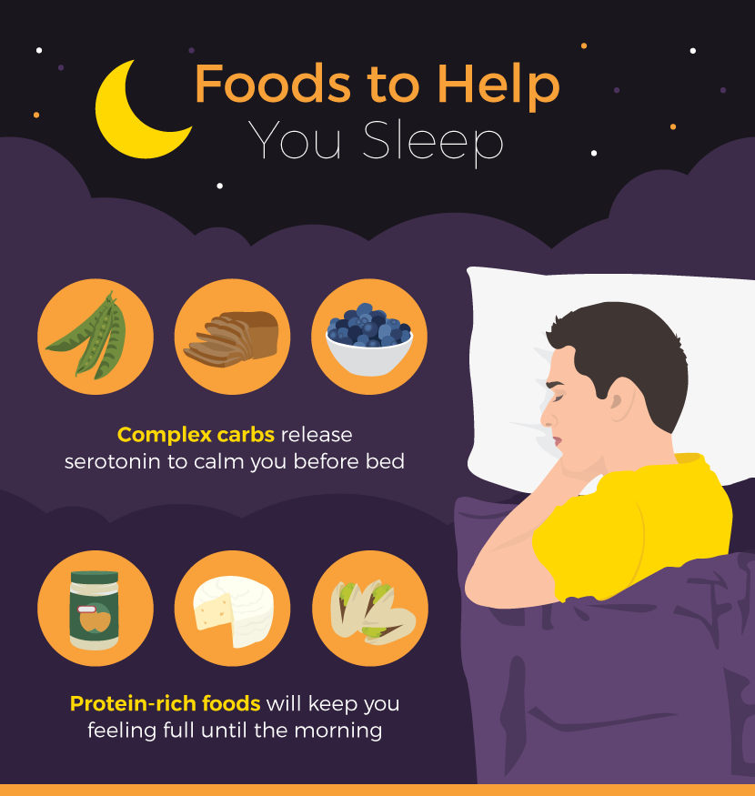 Best Foods To Help You Sleep