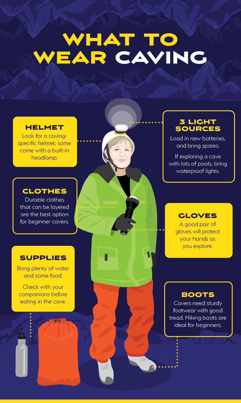 What to Wear Caving - Explore the Underground with Caving