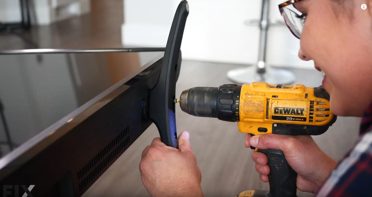 How to Wall Mount a TV: Remove TV Feet