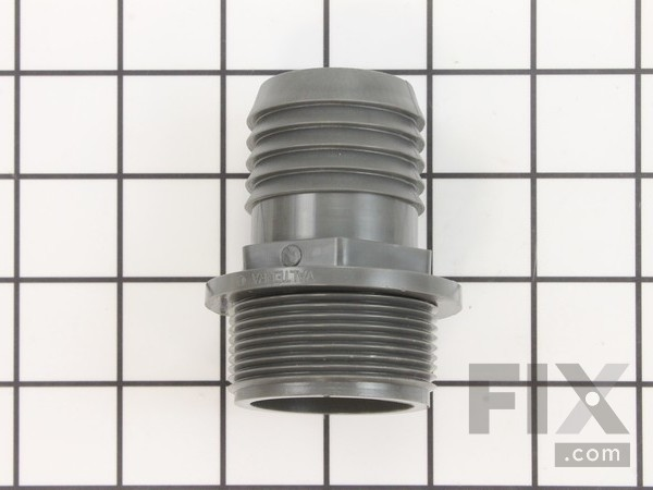 H229 Pvc Inlet Fitting 1 1/2""