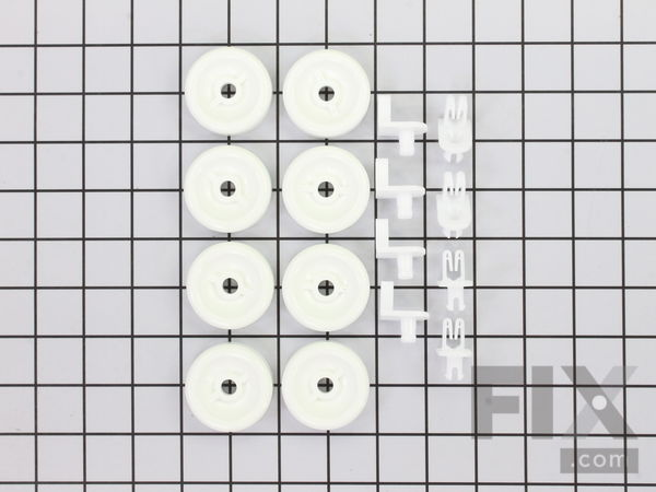 WD35X21038 Lower Rack Wheel Kit - 8 Pack