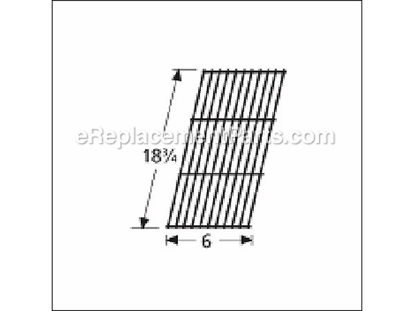 59501 Porcelain Steel Wire Cooking Grid