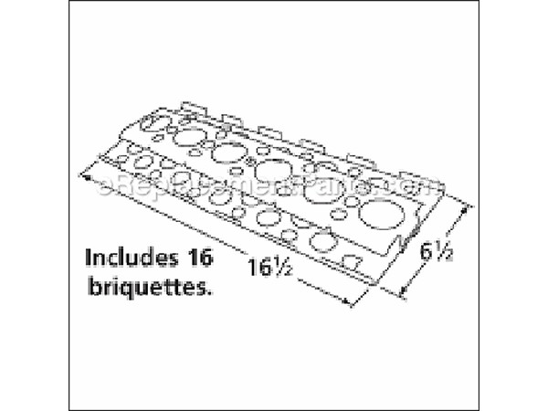 94751 Stainless Steel Heat Plate