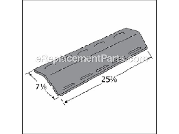 96121 Porcelain Steel Heat Plate