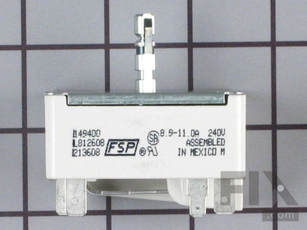 WP3149400 Surface Burner Element Switch - 8""