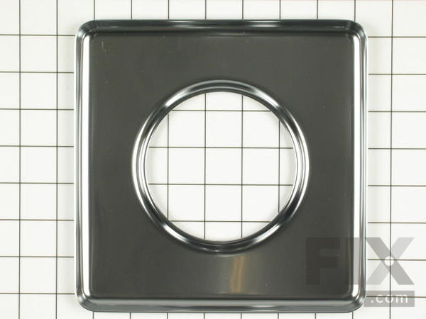 "WPY0060872 Square Chrome Drip Pan (sides measuring 7-3/4"" each)"