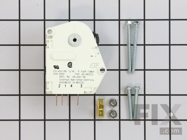 W10822278 Defrost Timer